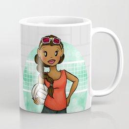 Volleyball Girl Coffee Mug