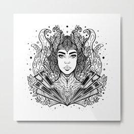 Viking Siren (Daily Sketch Series) Metal Print