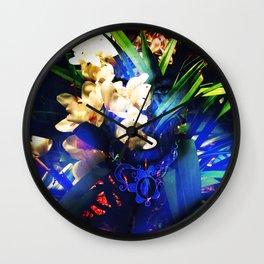 Layered Reality Blue love Wall Clock