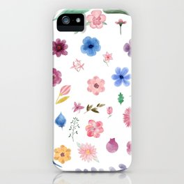 Centro de flores iPhone Case