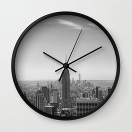 New York City - Empire State Building Wall Clock