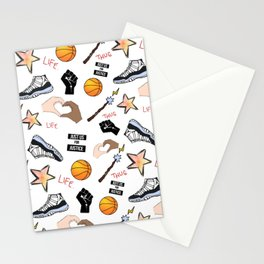 THE HATE U GIVE - PATTERN Stationery Cards