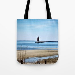 Lewes Lighthouse Tote Bag