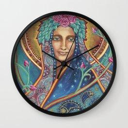 Shakti Creates by Justine Aldersey-Williams Wall Clock