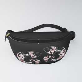 Floral Fish Fanny Pack