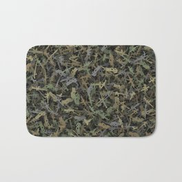 Weapon camouflage Bath Mat