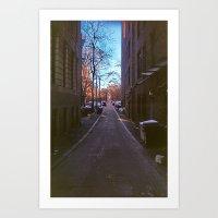 Alley Waize Art Print