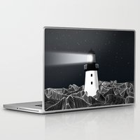 lighthouse Laptop & iPad Skins featuring Lighthouse by Florent Bodart / Speakerine