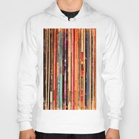 vinyl Hoodies featuring Vinyl by bomobob