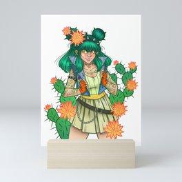 Cactus Flowers Mini Art Print