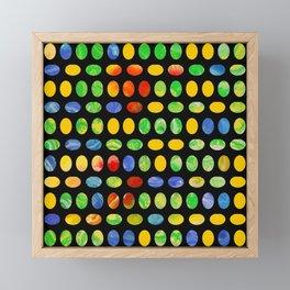 Jelly Beans Framed Mini Art Print