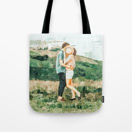 Togetherness #painting Tote Bag