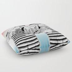 Samurai Duel Floor Pillow