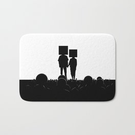 I have you. You have me. - US AND THEM Bath Mat