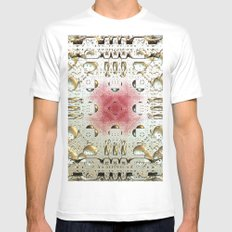 Egyptian Style MEDIUM Mens Fitted Tee White