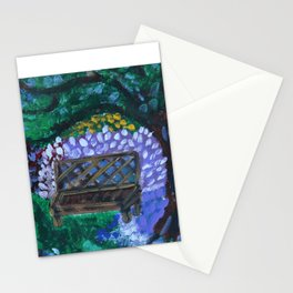 In the Wisdom Garden Stationery Cards