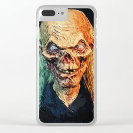The Crypt Keeper Clear iPhone Case