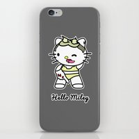 miley iPhone & iPod Skins featuring Hello Miley by Max'stache
