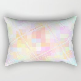 Re-Created Twisted SQ  VI by Robert S. Lee Rectangular Pillow
