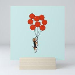 I Believe I Can Fly Beagle Mini Art Print