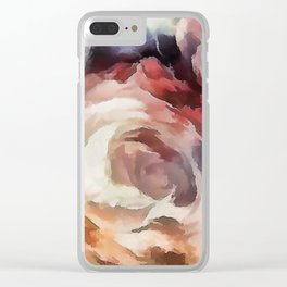 Roses of autumn. Clear iPhone Case