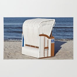 BEACH CHAIR No.69 - Baltic Sea - Isle Ruegen Rug