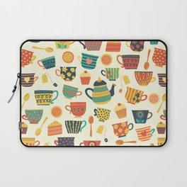 Tea Time Pattern - Sweet Treats Laptop Sleeve