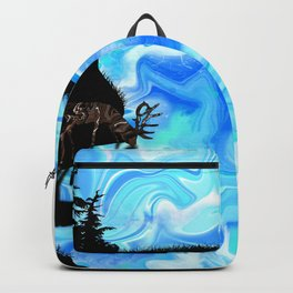 Grazing Elk Backpack