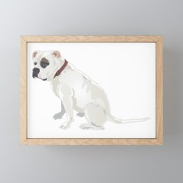 The Pale Boxer Framed Mini Art Print