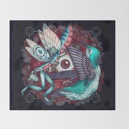 Swarm Throw Blanket