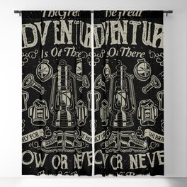 The Great Adventure is Out There Blackout Curtain
