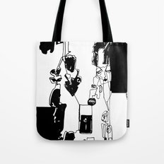 conflicted collection Tote Bag
