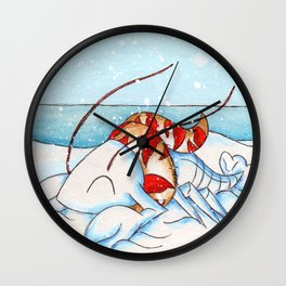 Snowlobstah Wall Clock