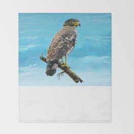 Congo Serpent Eagle Throw Blanket