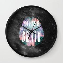 Beautiful Brain Wall Clock