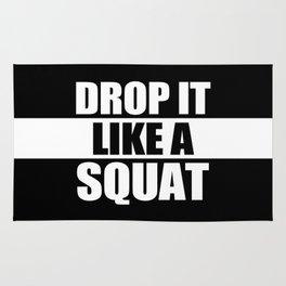 Drop It Like A Squat Rug