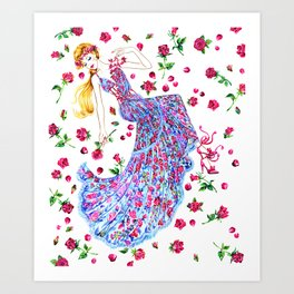 Fashion Dreamer Art Print