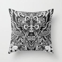 Barong Bali Throw Pillow