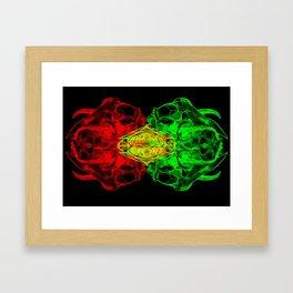 Bad Bug Framed Art Print