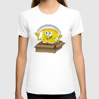 spongebob T-shirts featuring spongebob squarepants imagination by aceofspades81