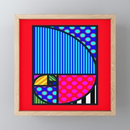 Fibo PoP-Art Framed Mini Art Print