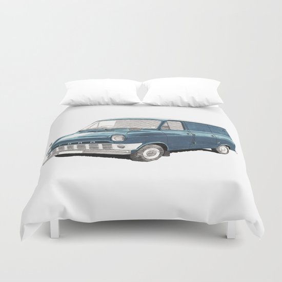 Ford Transit Mark 1 Duvet Cover