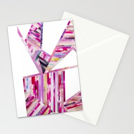 LINEA 011 Abstract Collage Stationery Cards