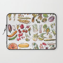 Vegetable Encyclopedia Laptop Sleeve