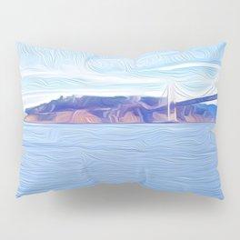 Yerba Buena at the Bridge Pillow Sham