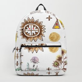 Grandmother Moon, Grandfather Sunflower Backpack