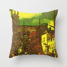 Van Duzer Street, 2012 Throw Pillow