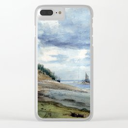 Lionel Constable View near Walton on Naze Clear iPhone Case