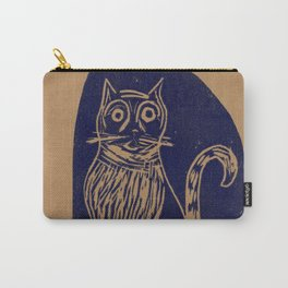 scared cat Carry-All Pouch