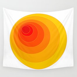I'm eccentric type ( Psychedelic theme ) Wall Tapestry